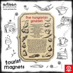 Tourist magnets - Hungarian Goulash recipe