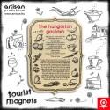 Tourist magnets - Gulyás recept