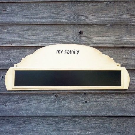 "Family table ""XL"" for 7 or 8 Babo magnets"