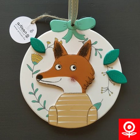 Spring Fox door hanger / decoration