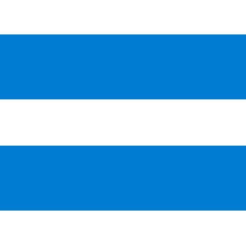 blue-white striped