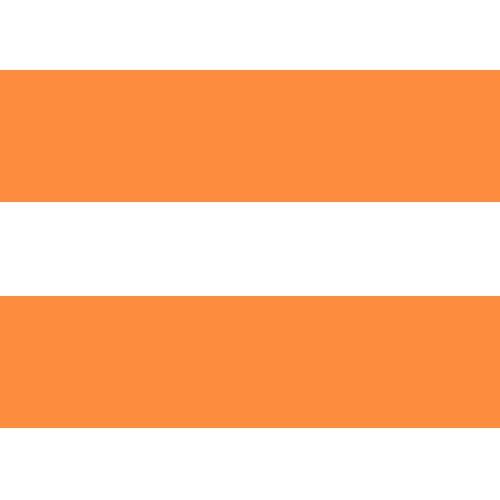 orange-white striped