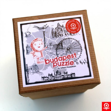 Puzzle - Budapest Map