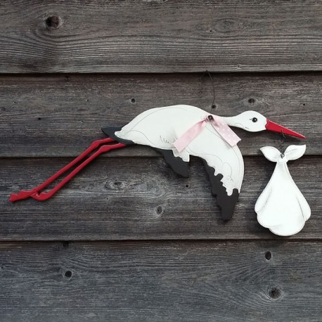 Stork - table sign