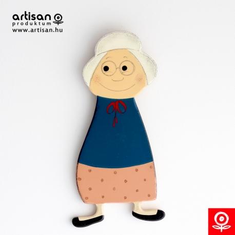 Babo Grandma magnetic figure