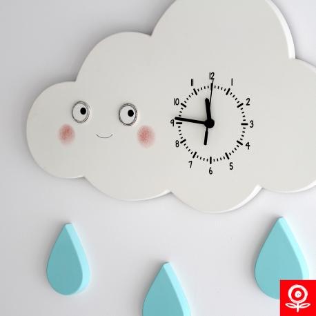 Felhő óra - hangtalan szerkezettel