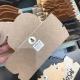 Anna névtábla barna copfos