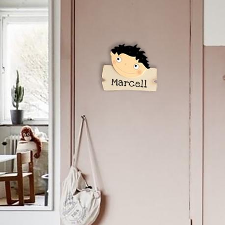 Marcell fekete  névtábla
