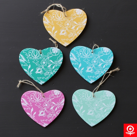 Spring decorations - Red heart