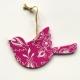 Spring decorations - Pink bird