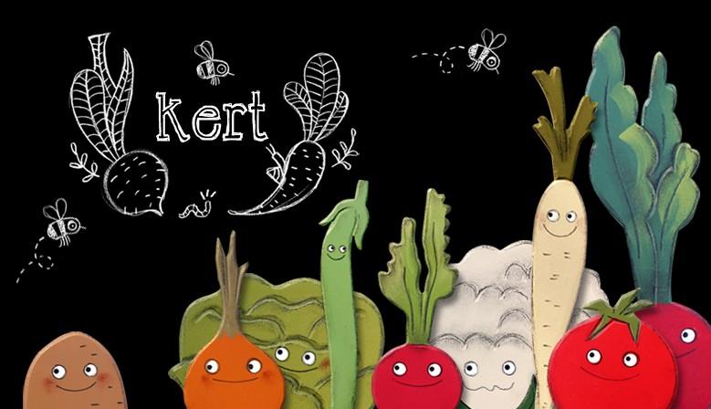 Kert - Zöldség, gyümölcs mágnesek